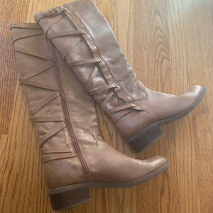 Tall Leather BCBG Generation Boots